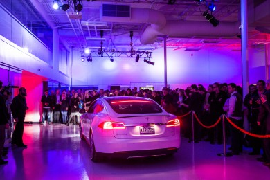 Montreal Tesla Service Center Inauguration