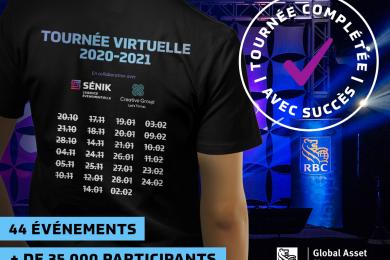 Tournée virtuelle 2020-2021